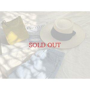 画像2: paper tape hat