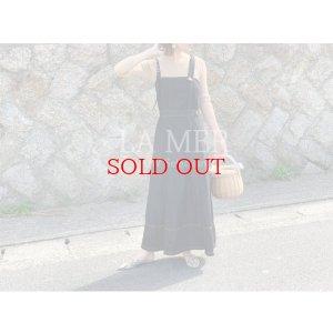 画像1: assymetry indigo dress