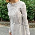 画像5: asymmetry layerd knit op