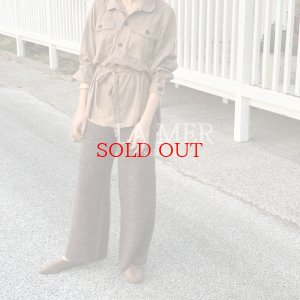 画像2: 【再入荷】suede belt  shirts