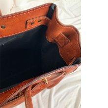 3: 【予約】leather big tote