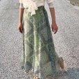 画像9: paisley sheer skirt