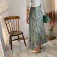 画像12: paisley sheer skirt