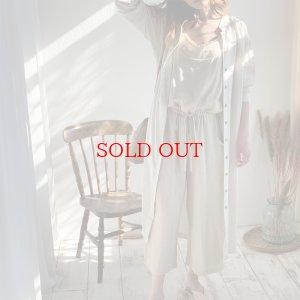 画像1: linen gown op