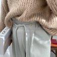 画像3: brushed pale tone wide pants